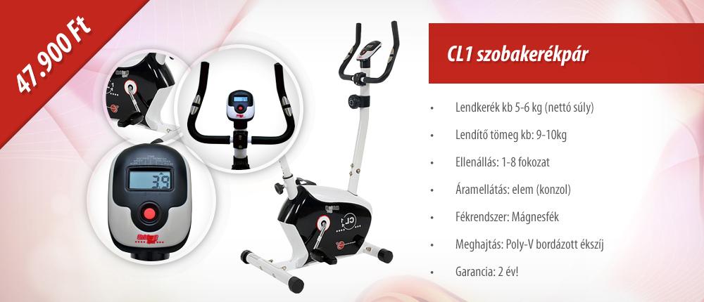 Christopeit Sport CL1 Szobakerékpár